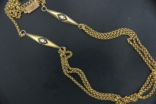 c7adafe84 258086-The_Double_Point_Chain_Charmed_Magdalena_necklace_in_Bronze_retails_for_260__1.JPG