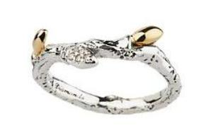 A branch ring by Stephen Dweck for QVC retails for $58.32.