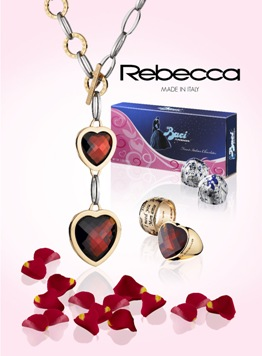 Rebecca Jewelry promotion with Baci Perugina