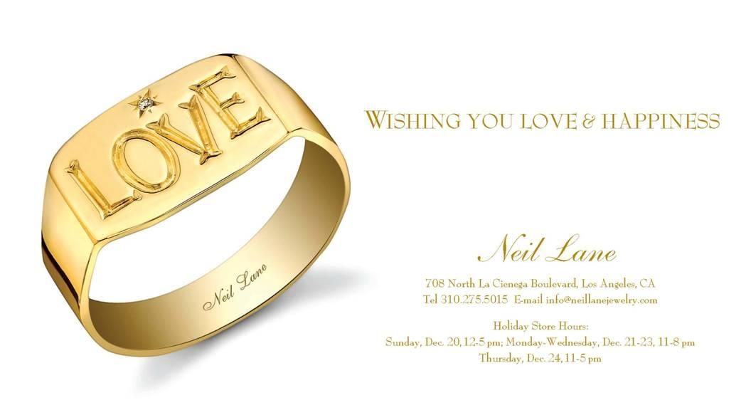 Holiday Greetings from Neil Lane