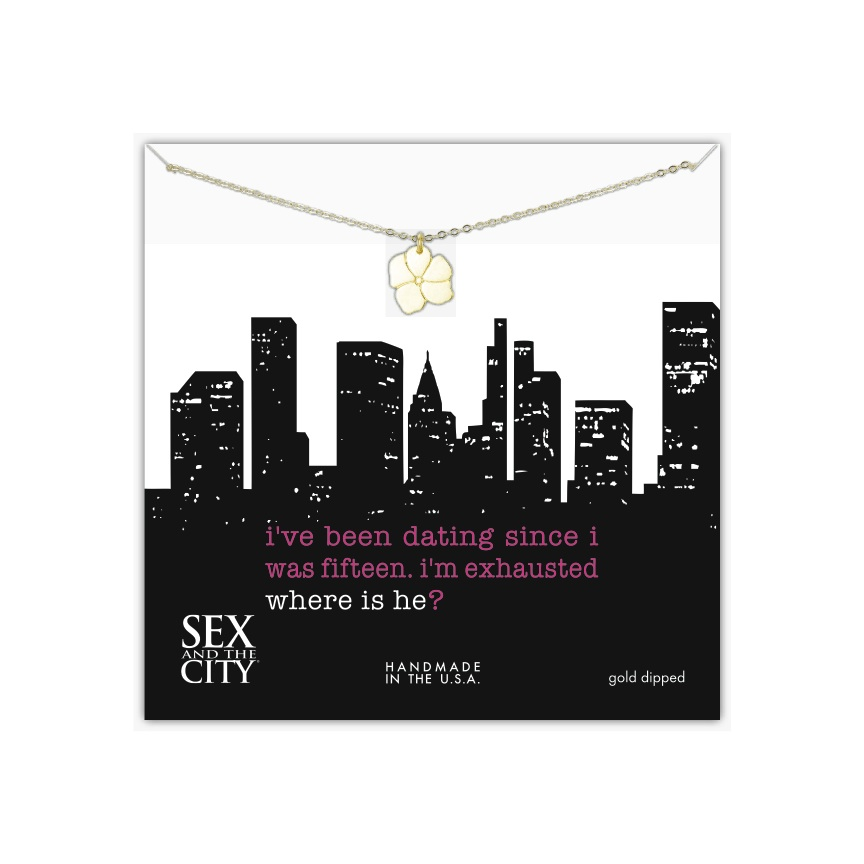 Sex and the City jewelry by Dogeared for HBO