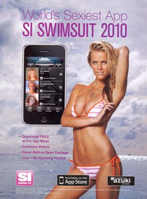 iphone app for SI Swimsuit issue