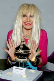 $3 million Chambord bottle with Betsey Johnson