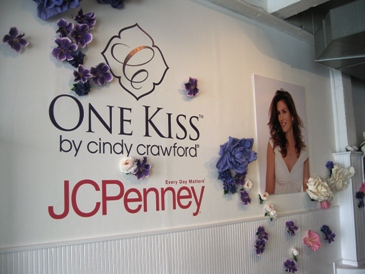 Cindy Crawford's One Kiss Line for JC Penney