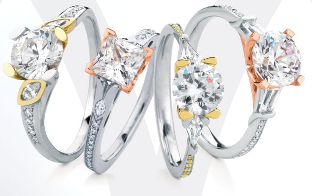 MaeVona diamond engagement rings