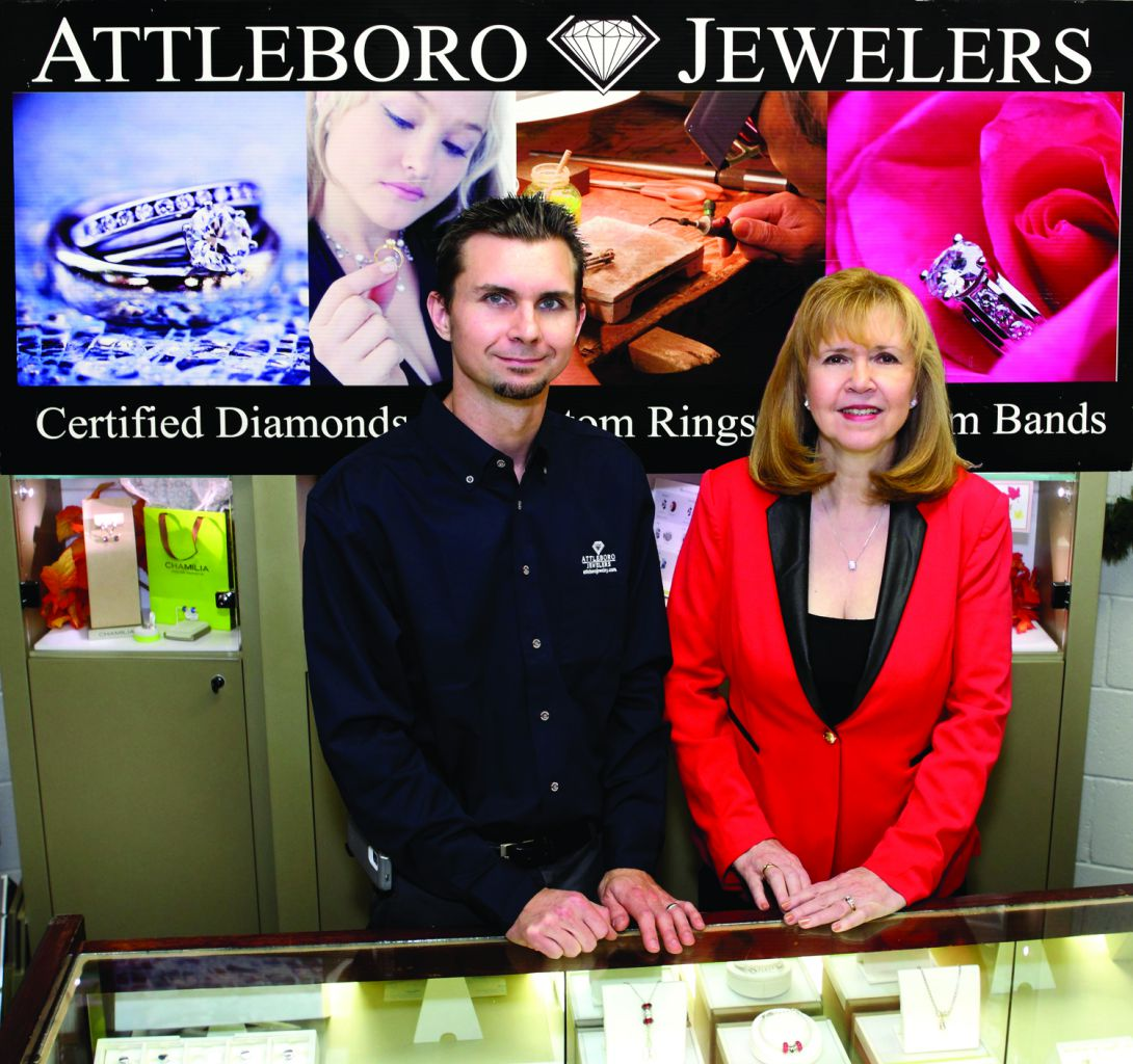 Attleboro Jewelers Nancy and Jeff