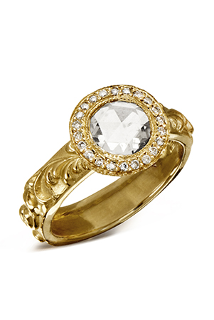 Halo Style Rings May Be The Hardest Working Design In Market With Both Brides And Fashionistas Loving Look For Its Classic Styling