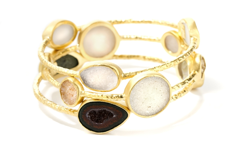 Nina Nguyen Pallas stacking bangles