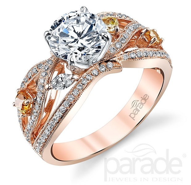 Parade Design Reverie rose gold engagement ring