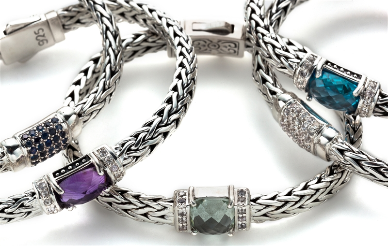 Royal Chain Phillip Gavriel woven collection bracelets