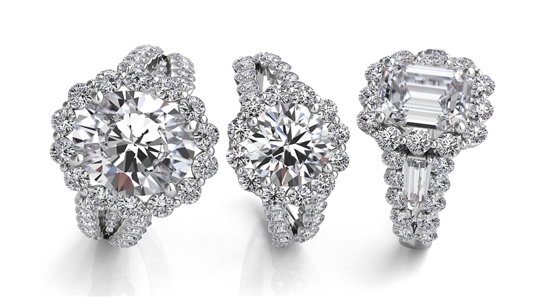 Sasha Primak diamond remount engagement rings