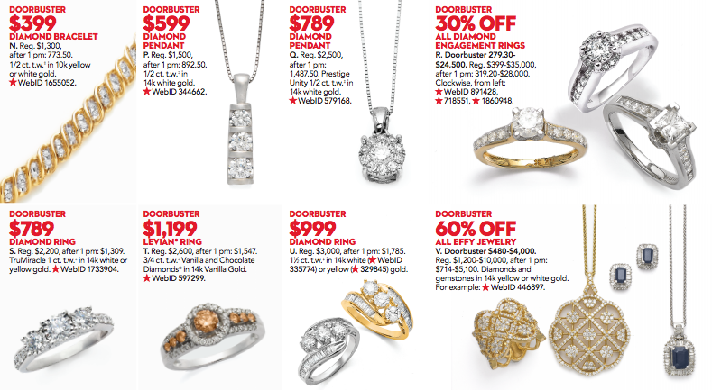 6cfb3e781 Macy's to Cut Diamond Engagement Ring Prices by 30 Percent on Black Friday