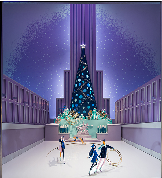 Tiffany and Co. window display 2014