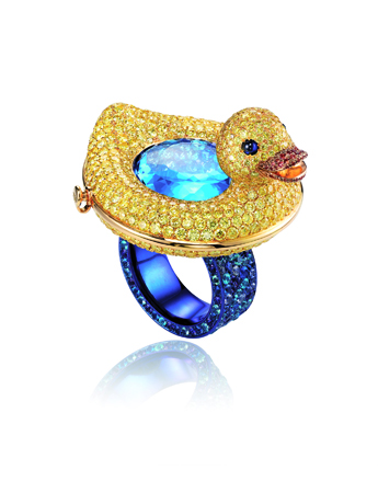 Chopard Duck ring