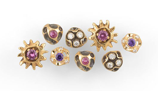 Stud earrings from Audrius Krulis