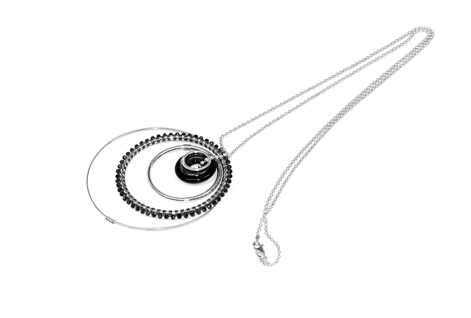 m31n1_sterling_silver_black_agate_and_hematite_multi_ring_necklace_hand_woven_with_mystic_black_spinel_on_30inch_ball_chain_v2.jpg