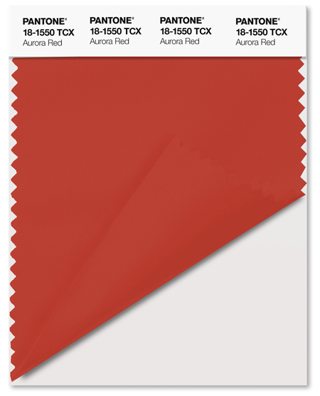 pantone aurora red - photo #16