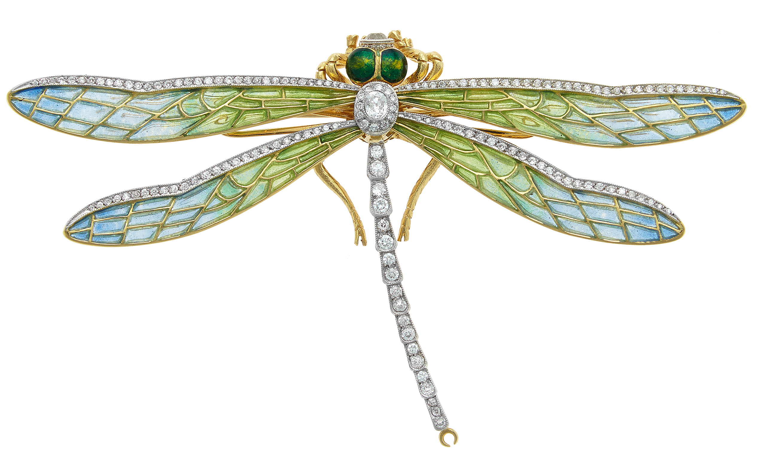 William Noble dragonfly brooch| JCK On Your Market