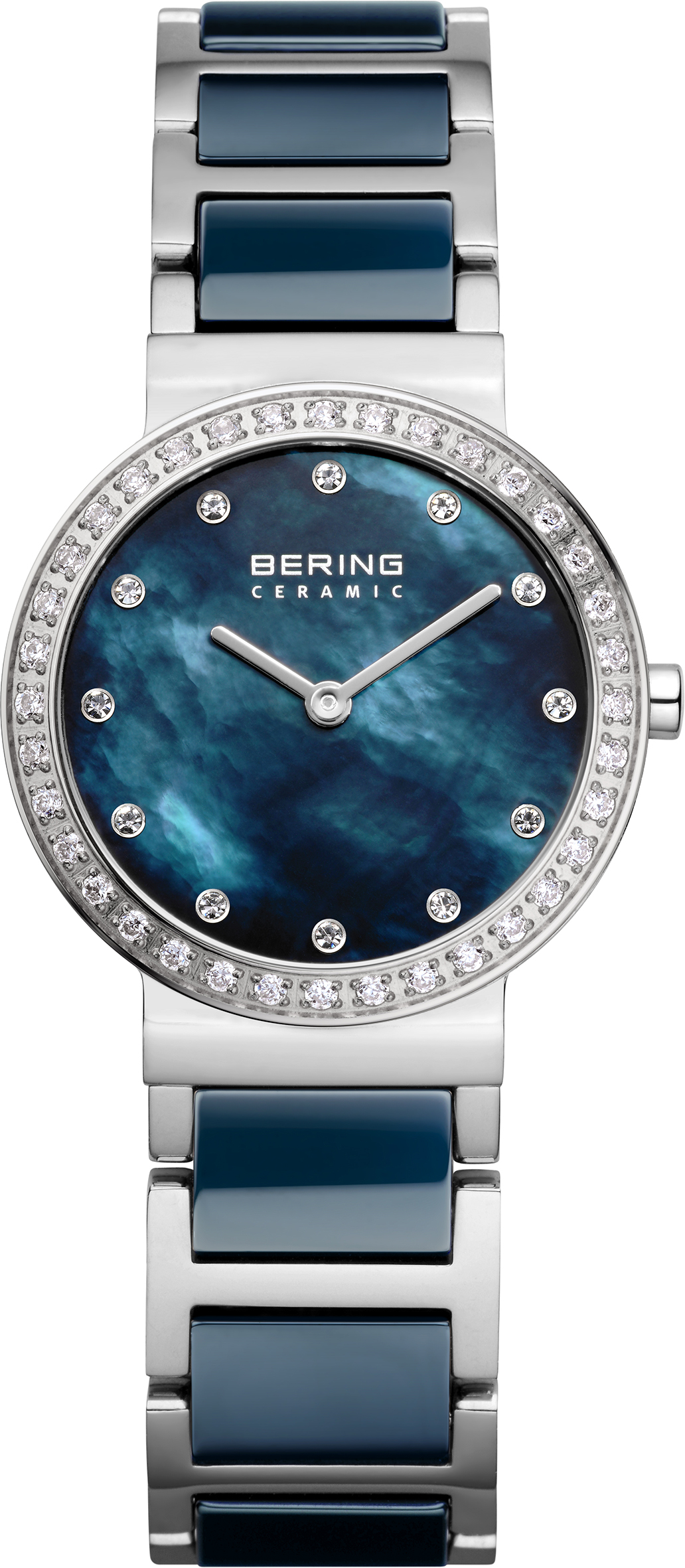 Bering Time blue ceramic ladies watch | JCK On Your Market
