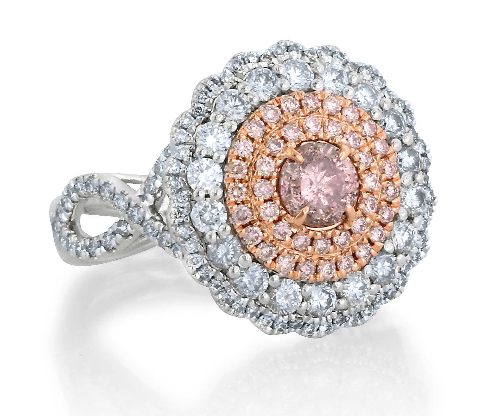 Yael Designs Vivian pink diamond engagement ring | JCK On Your Market