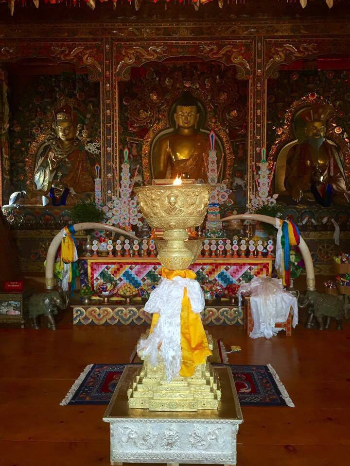 Golden Butter Lamp, Bhutan