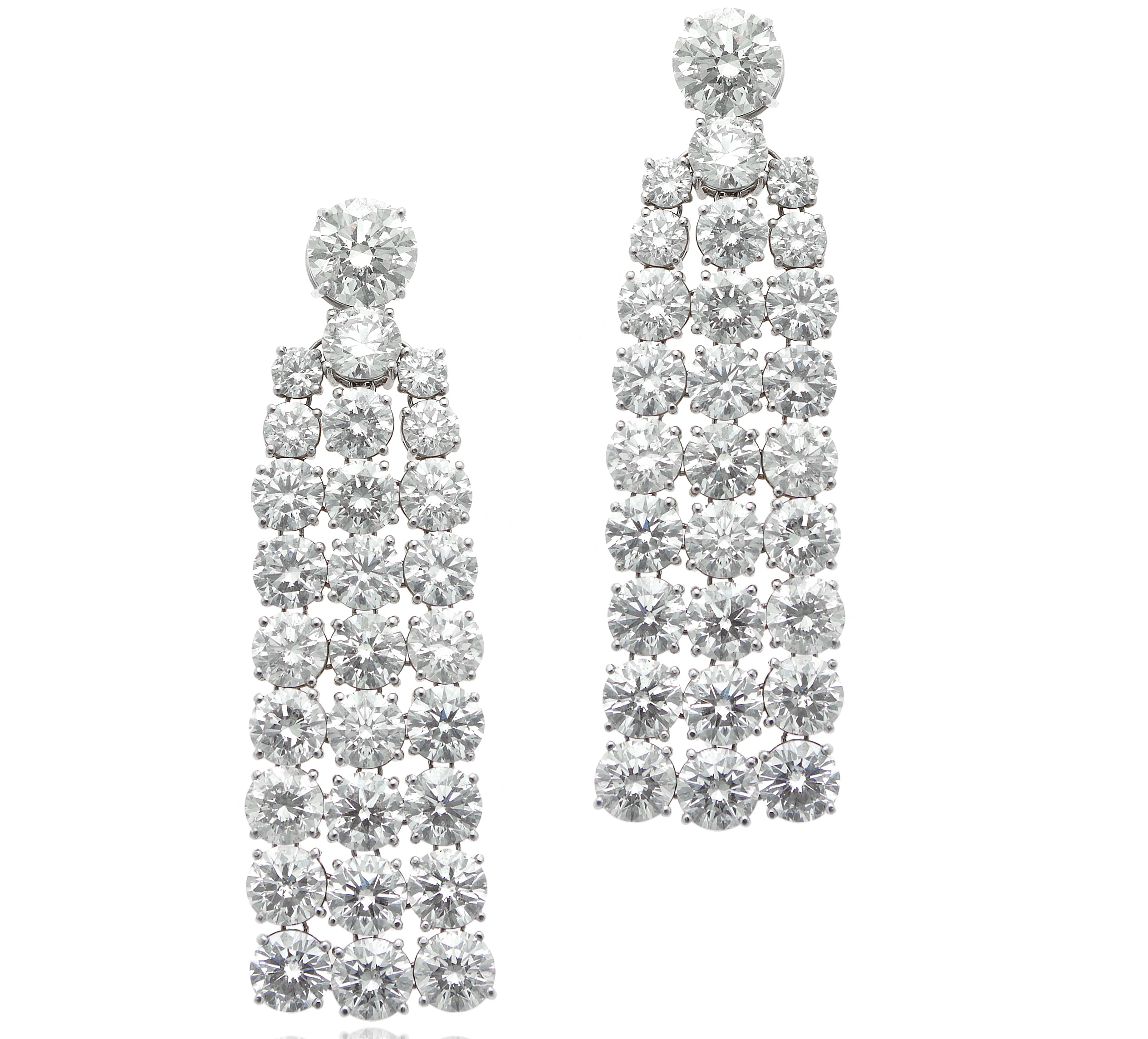 William Noble diamond cascade earrings | JCK On Your Market