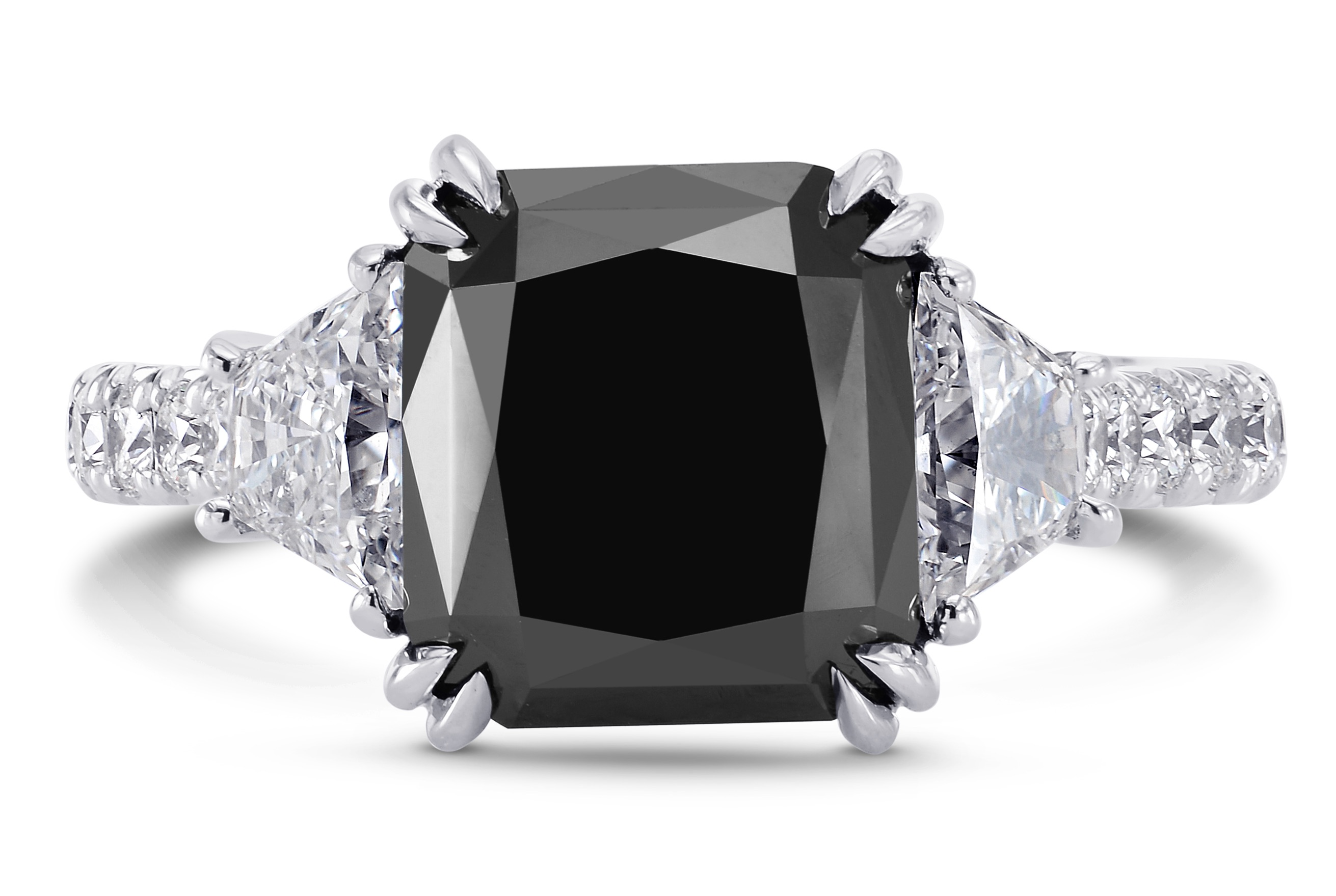 Leibish and Co. natural fancy black diamond ring | JCK On Your Market