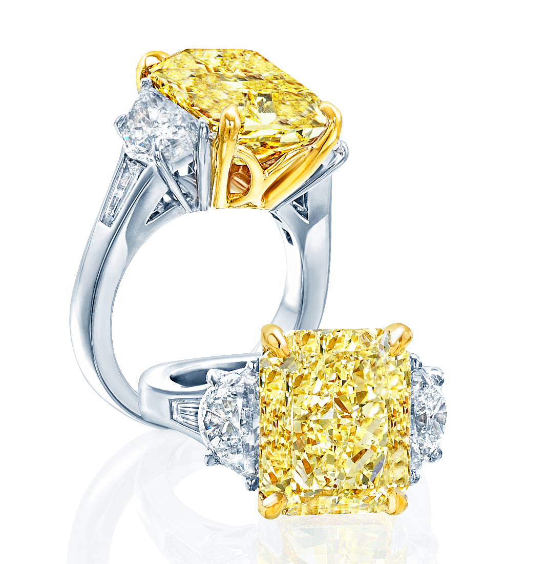 JB Star yellow diamond ring | JCK On Your Market