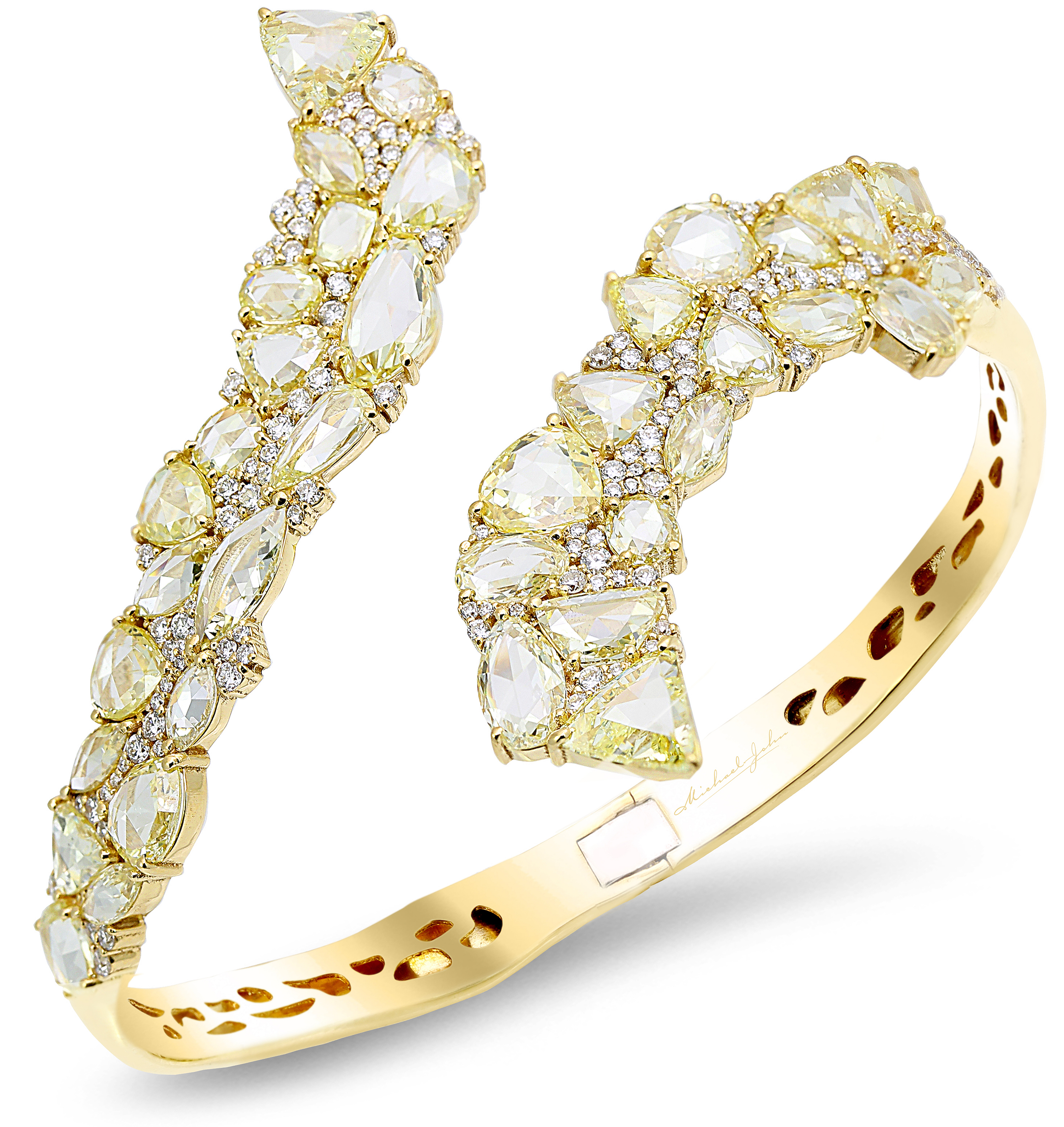 Michael John Jewelry rose-cut diamond bangle | JCK On Your Market