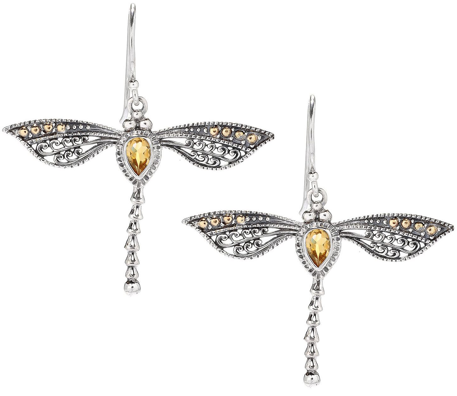 Samuel B dragonfly drop earrings | JCK On Your Market