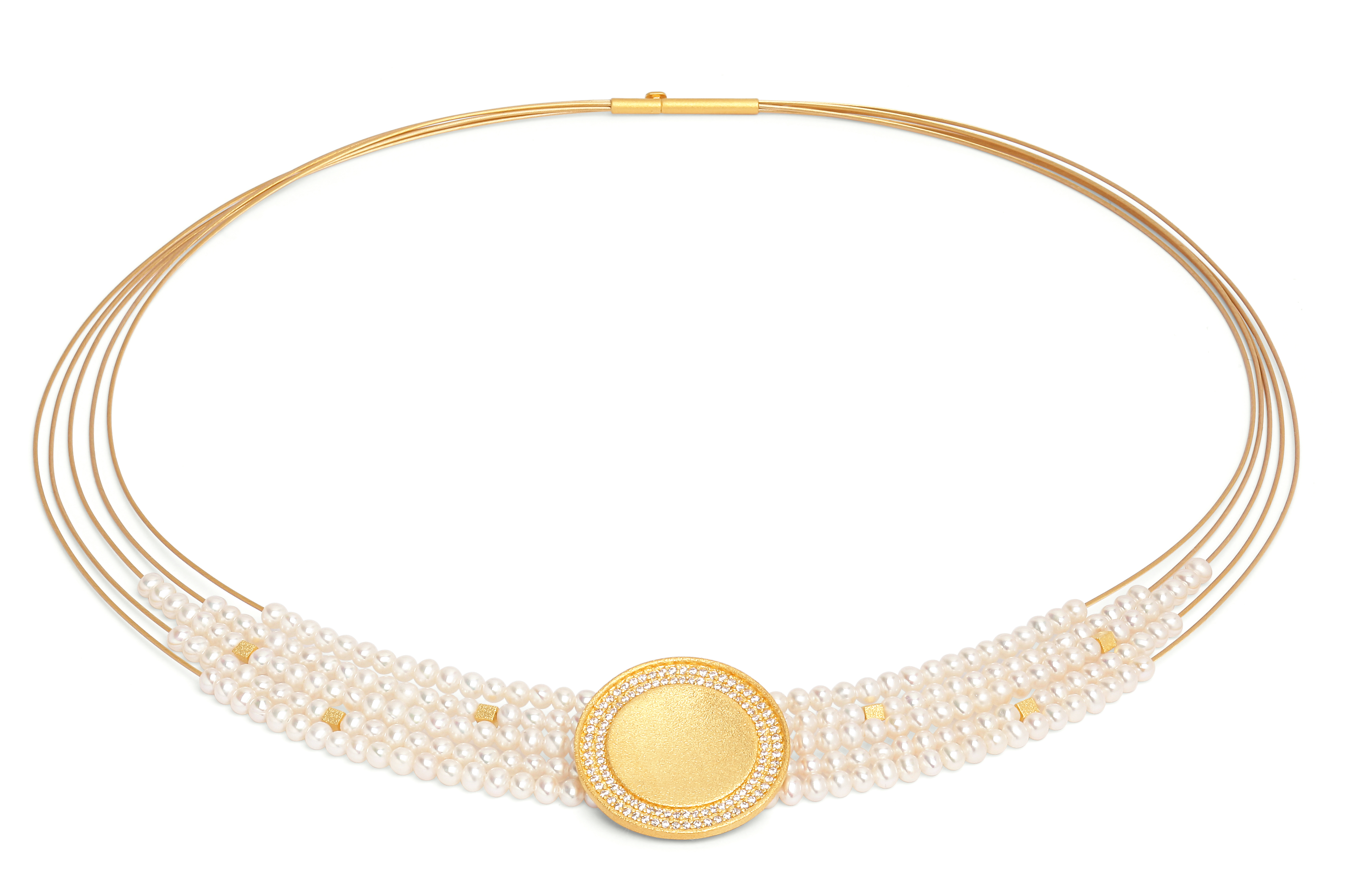 Bernd Wolf Victoria freshwater pearl collier | JCK On Your Market