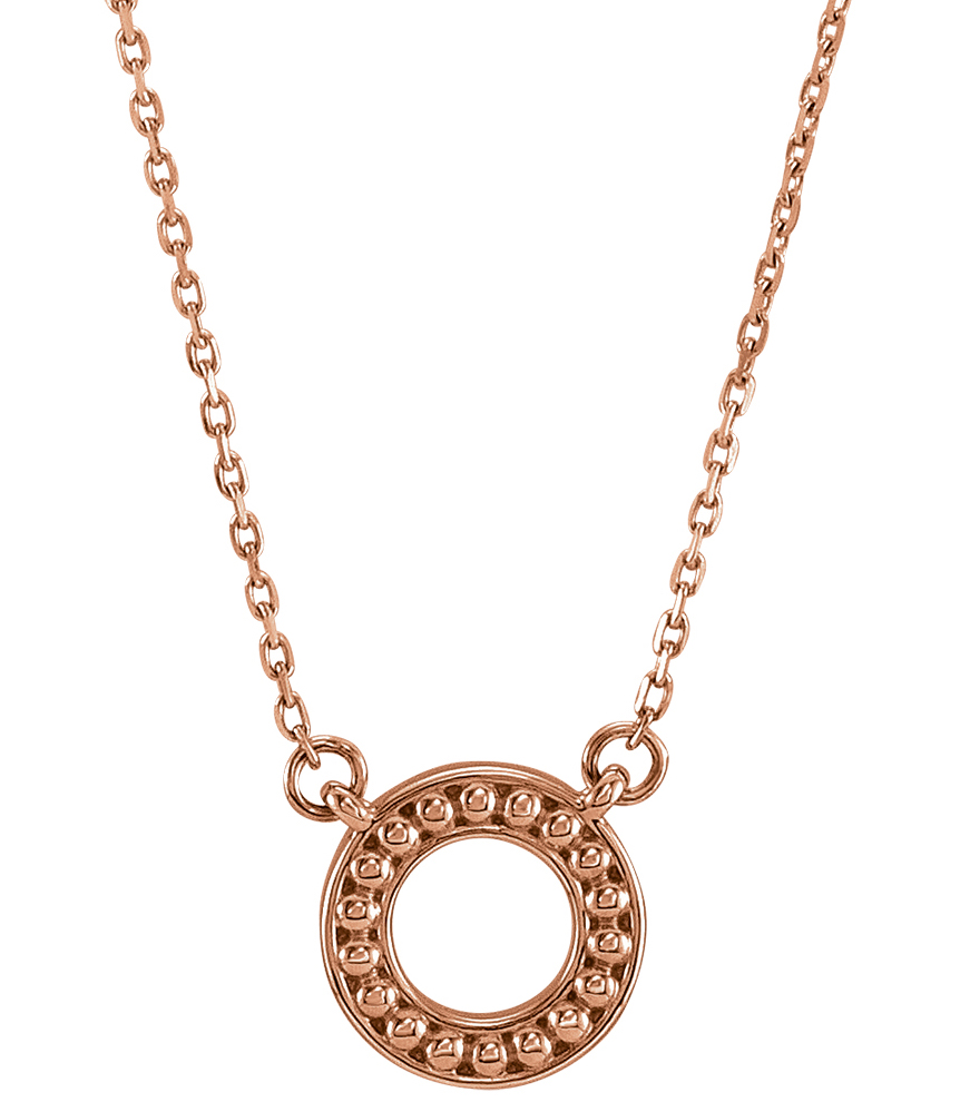 Stuller beaded circle necklace | JCK On Your Market