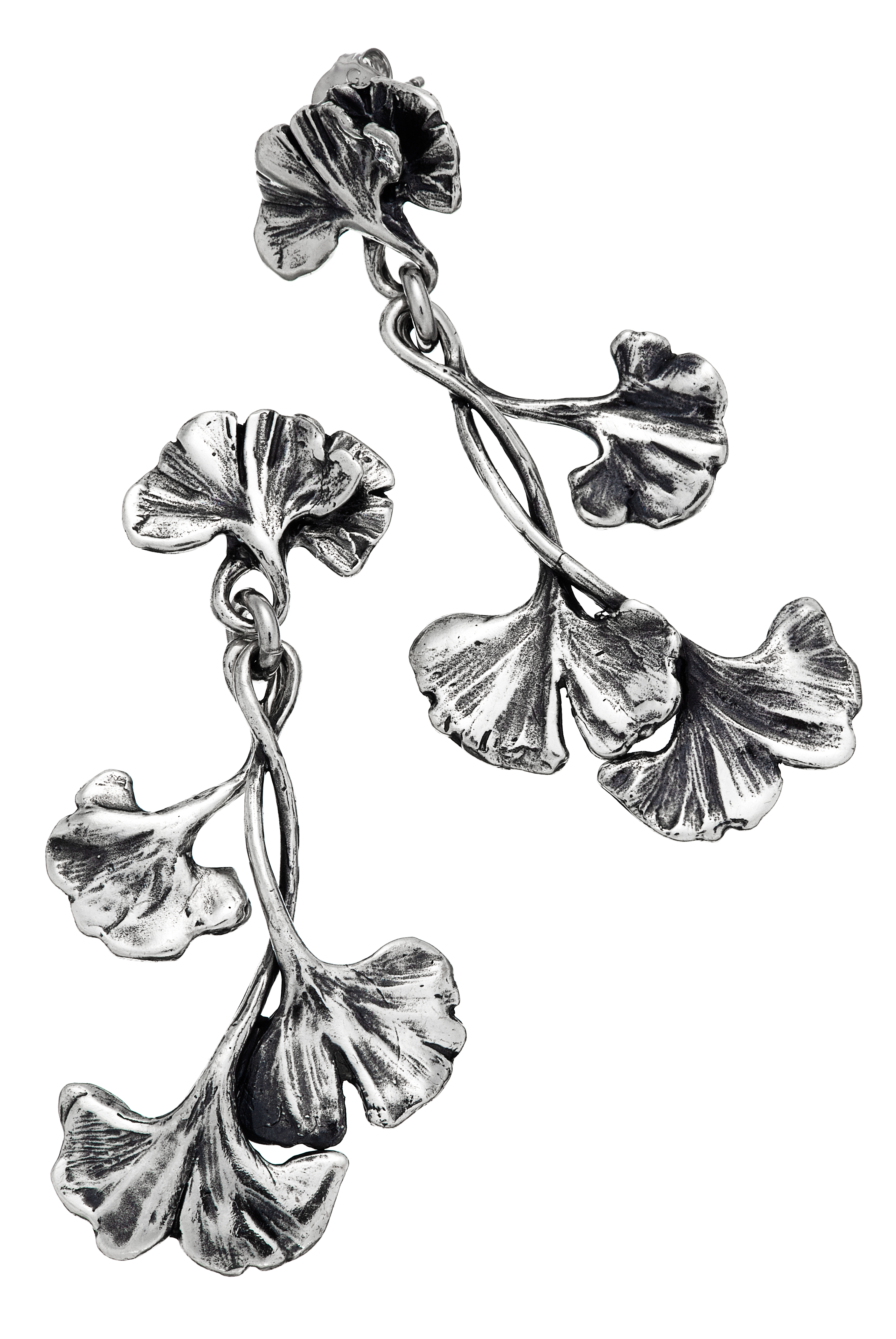 Giovanni Raspini Gingko earrings | JCK On Your Market