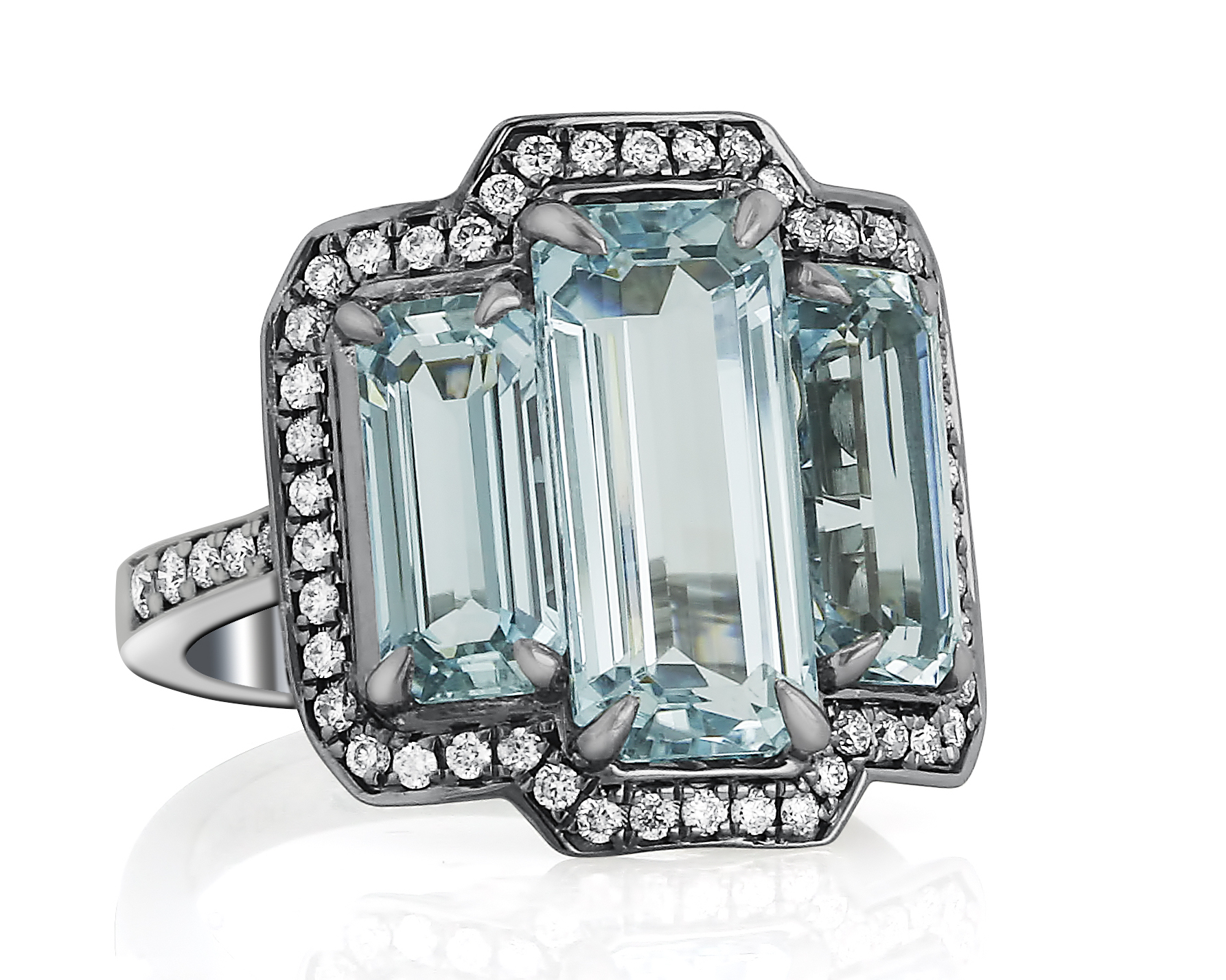 Yael Designs aquamarine ring #BRITTSPICK | JCK On Your Market