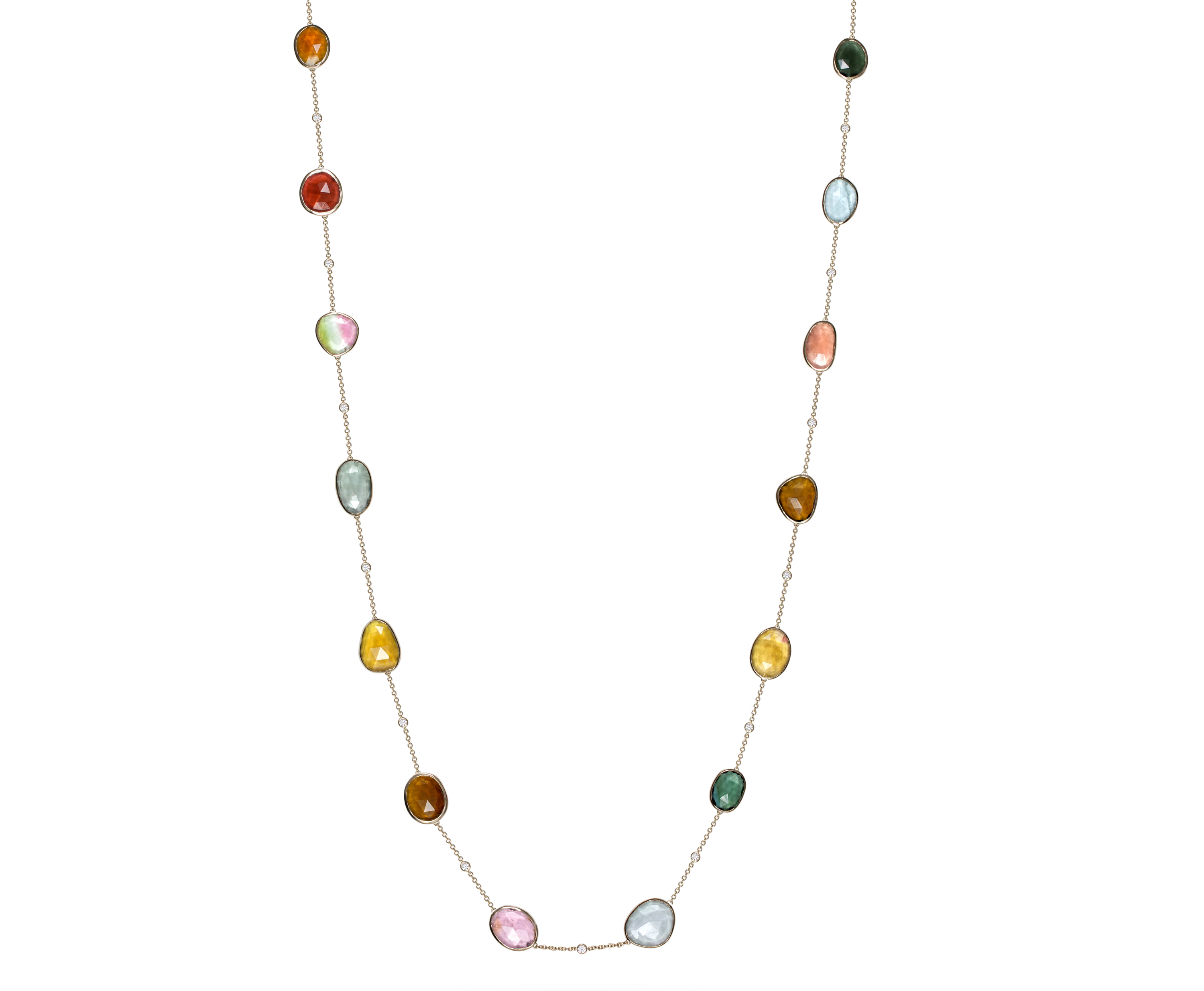 VTse multicolor gemstone necklace | JCK On Your Market