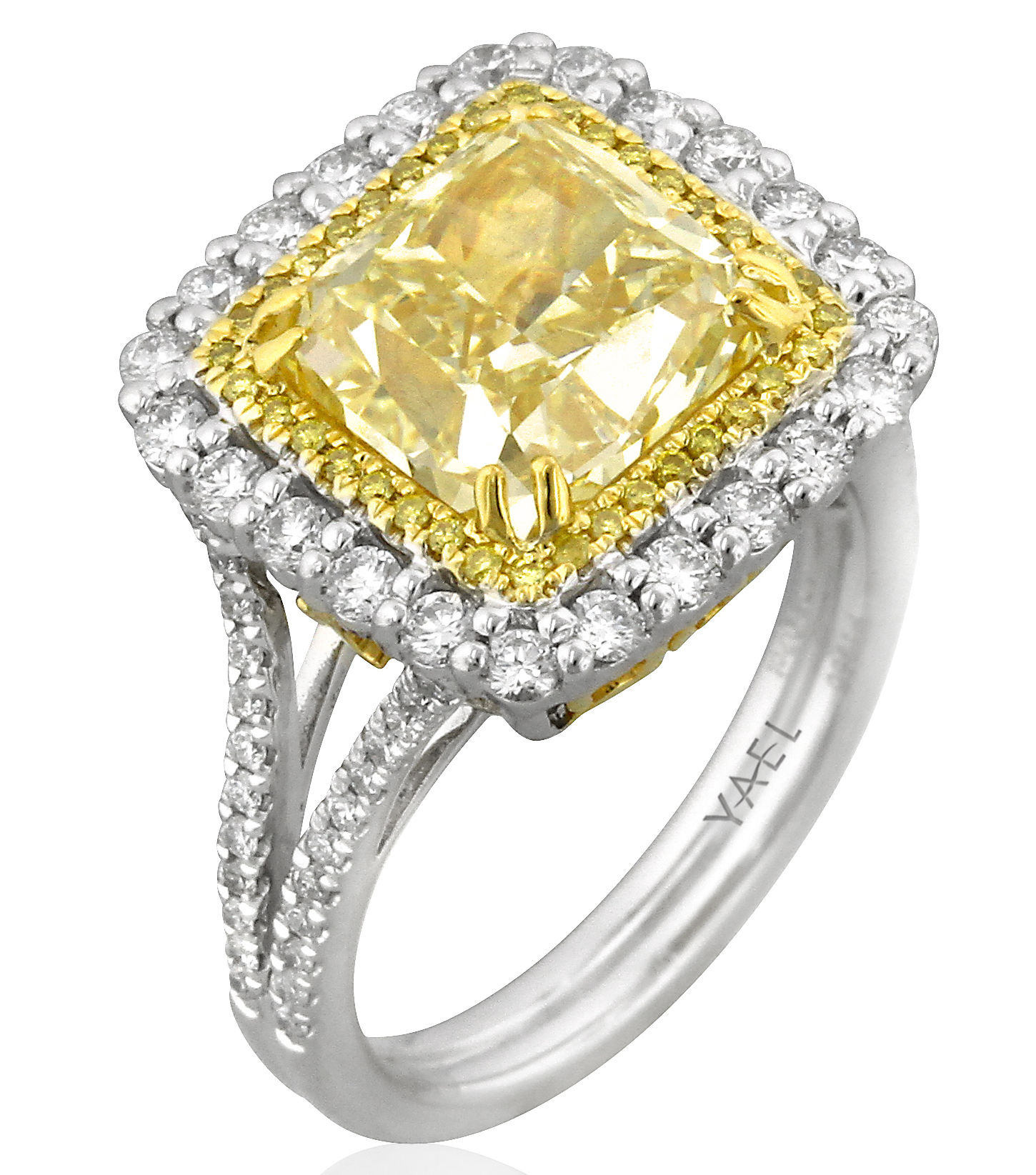 Yael Designs fancy yellow diamond ring | JCK On Your Market