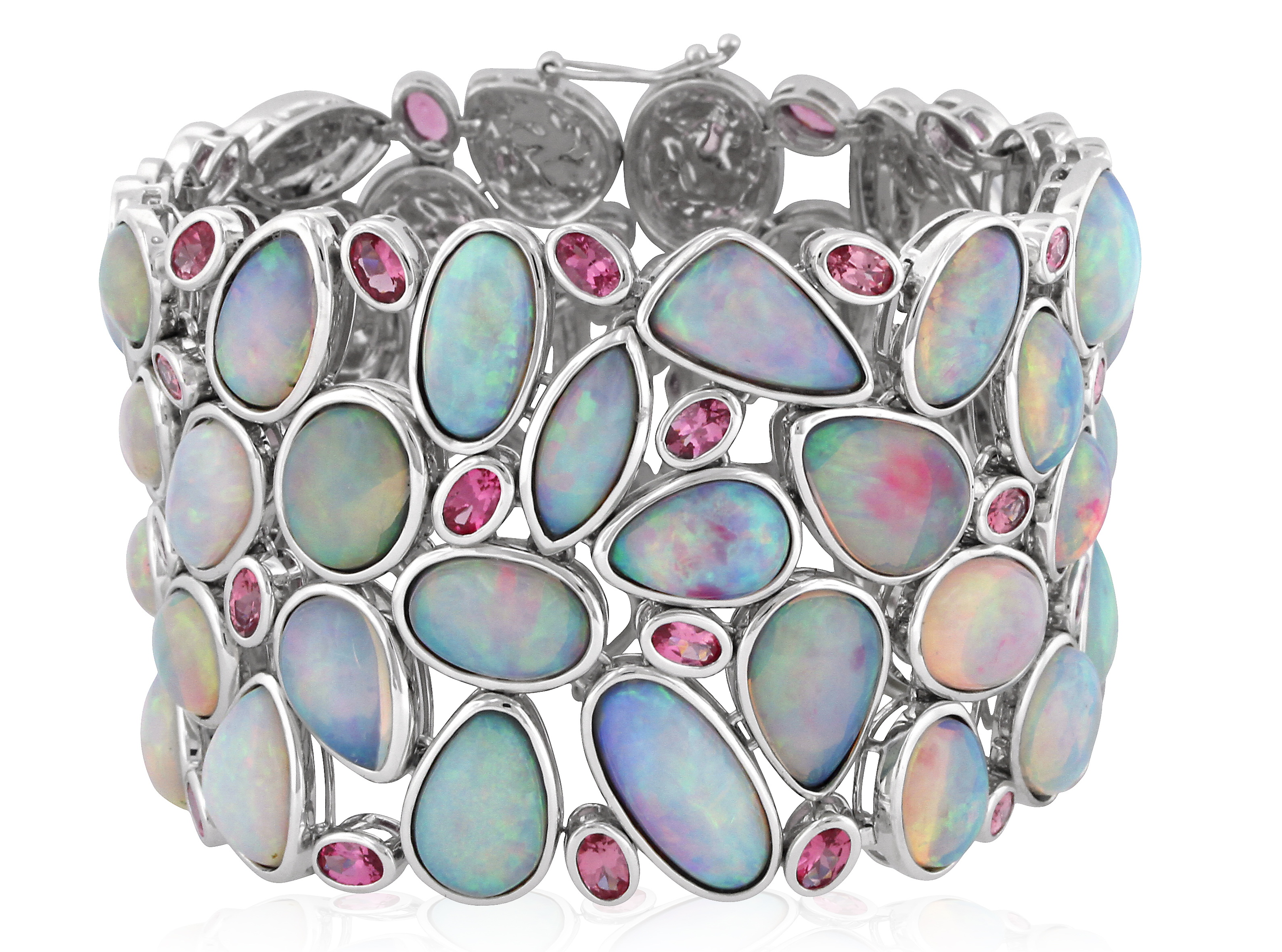 Yael Designs opal and pink spinel bracelet | JCK On Your Market