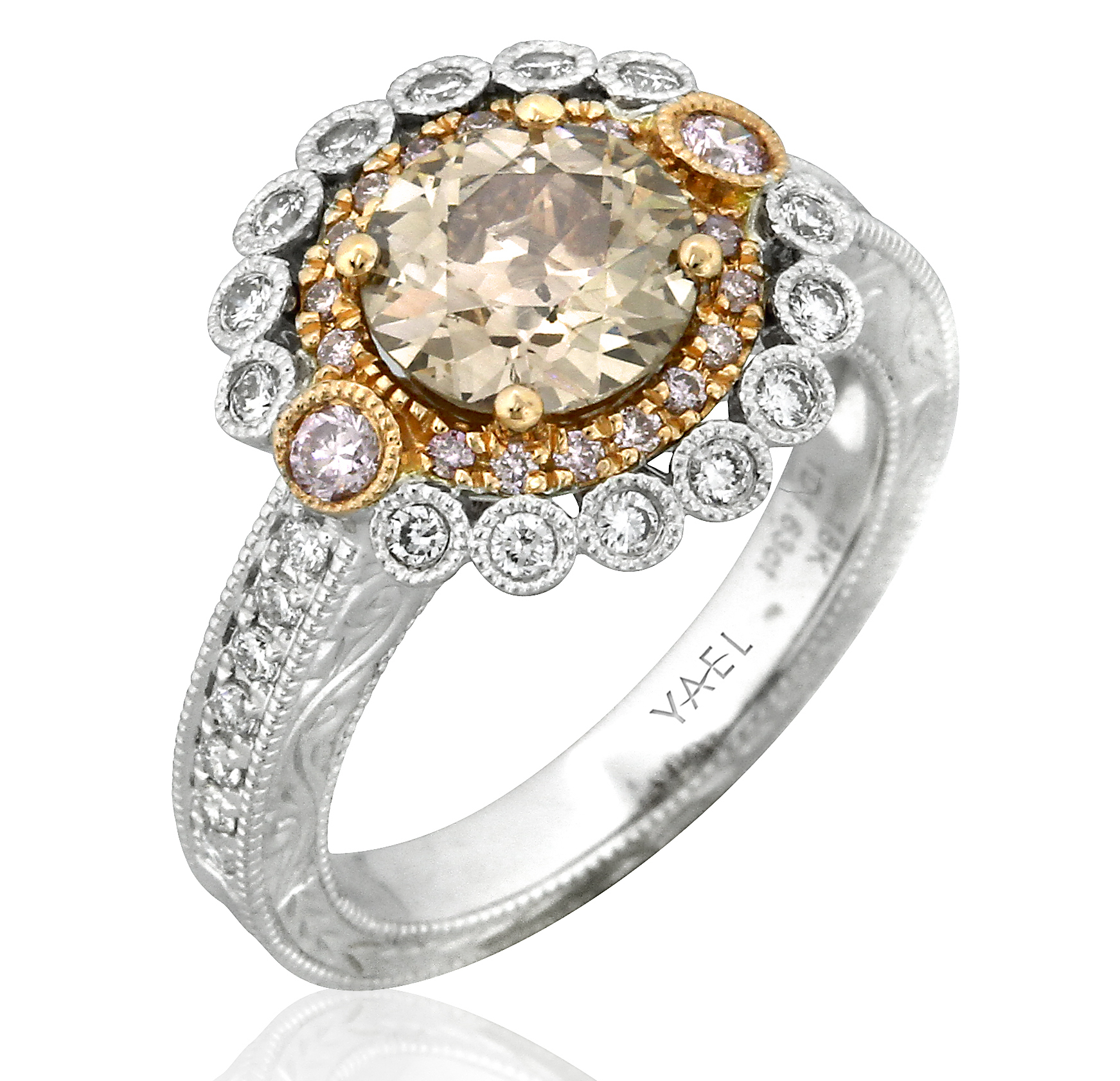 Yael Designs champagne diamond collection ring | JCK On Your Market