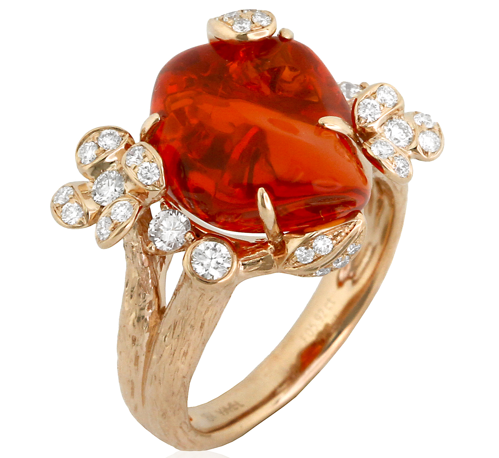 Yael Designs Lava fire opal ring | JCK On Your Market