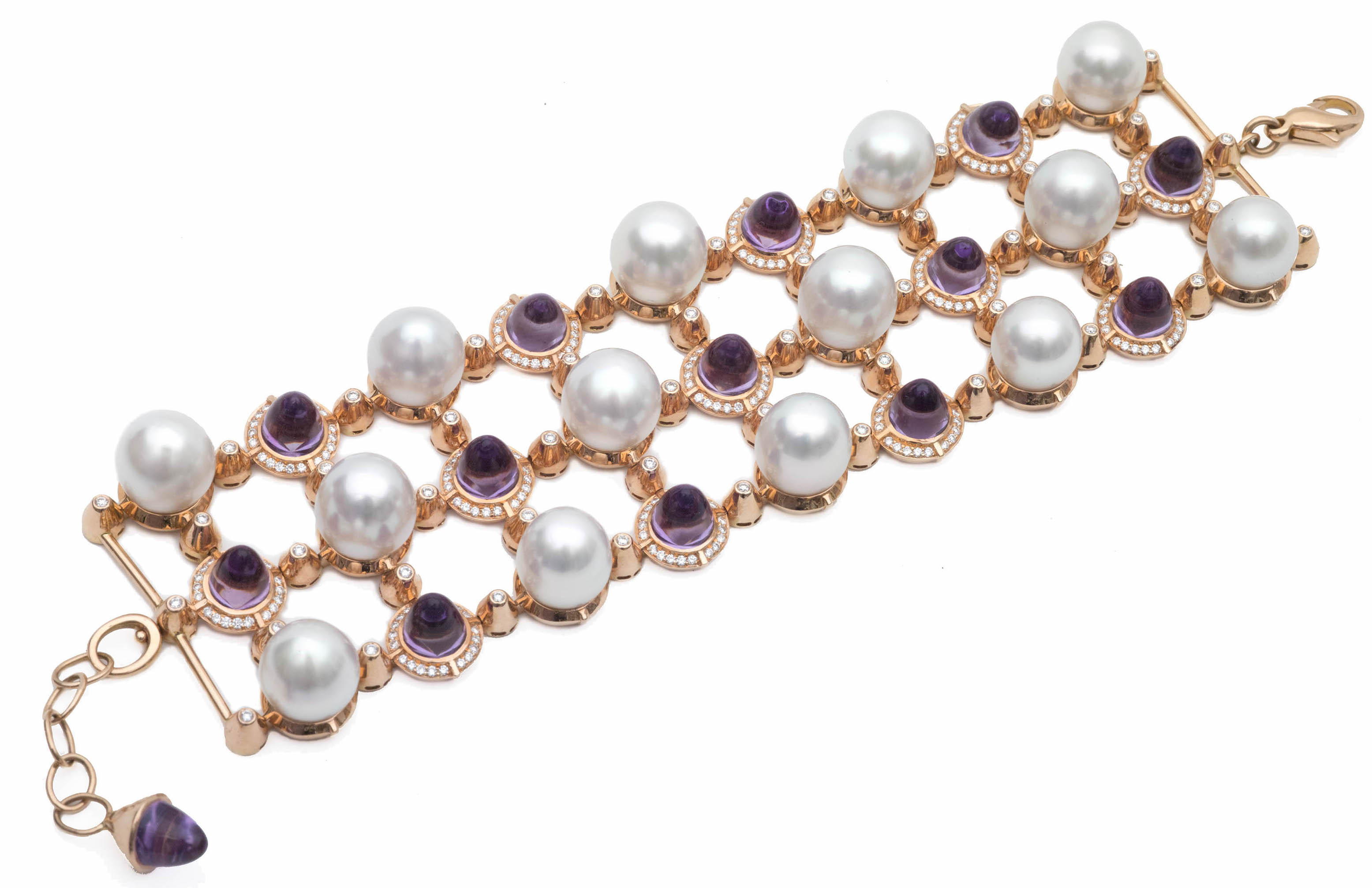 Tara Pearls amethyst and pearl bracelet | JCK On Your Market