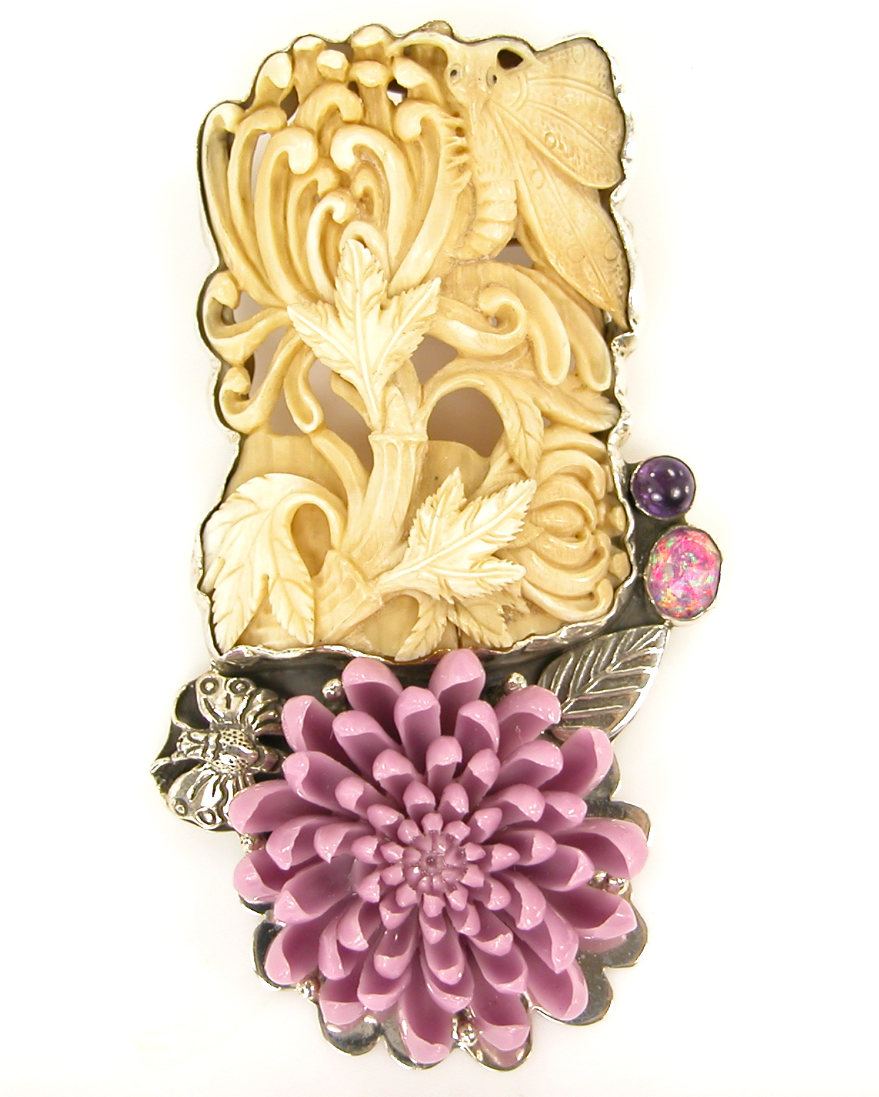 Amy Kahn Russell one-of-a-kind brooch | JCK On Your Market