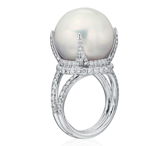 Baggins South Sea pearl ring | JCK On Your Market