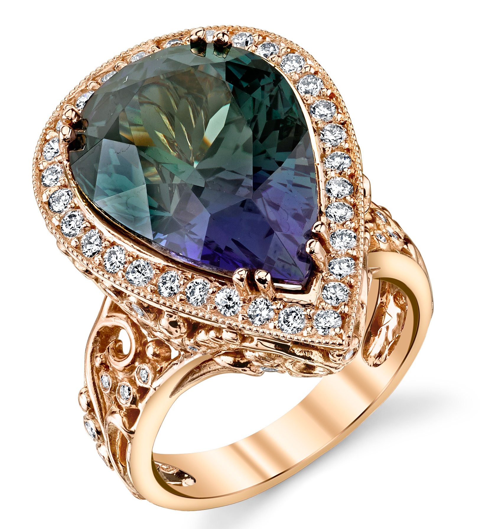 Dallas Prince Designs Twilight tanzanite ring | JCK On Your Market