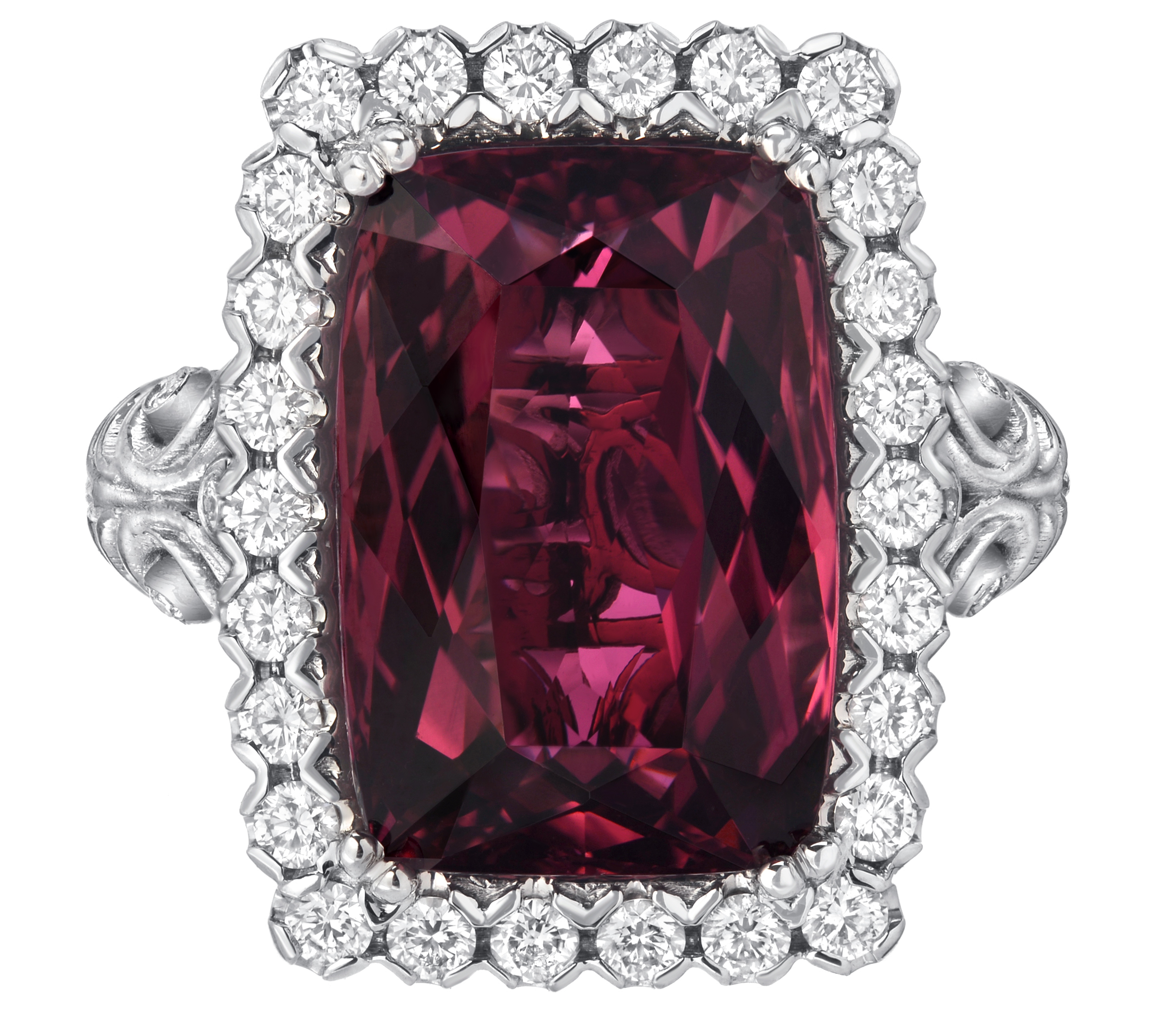 Dallas Prince Black Orchid tourmaline ring | JCK On Your Market