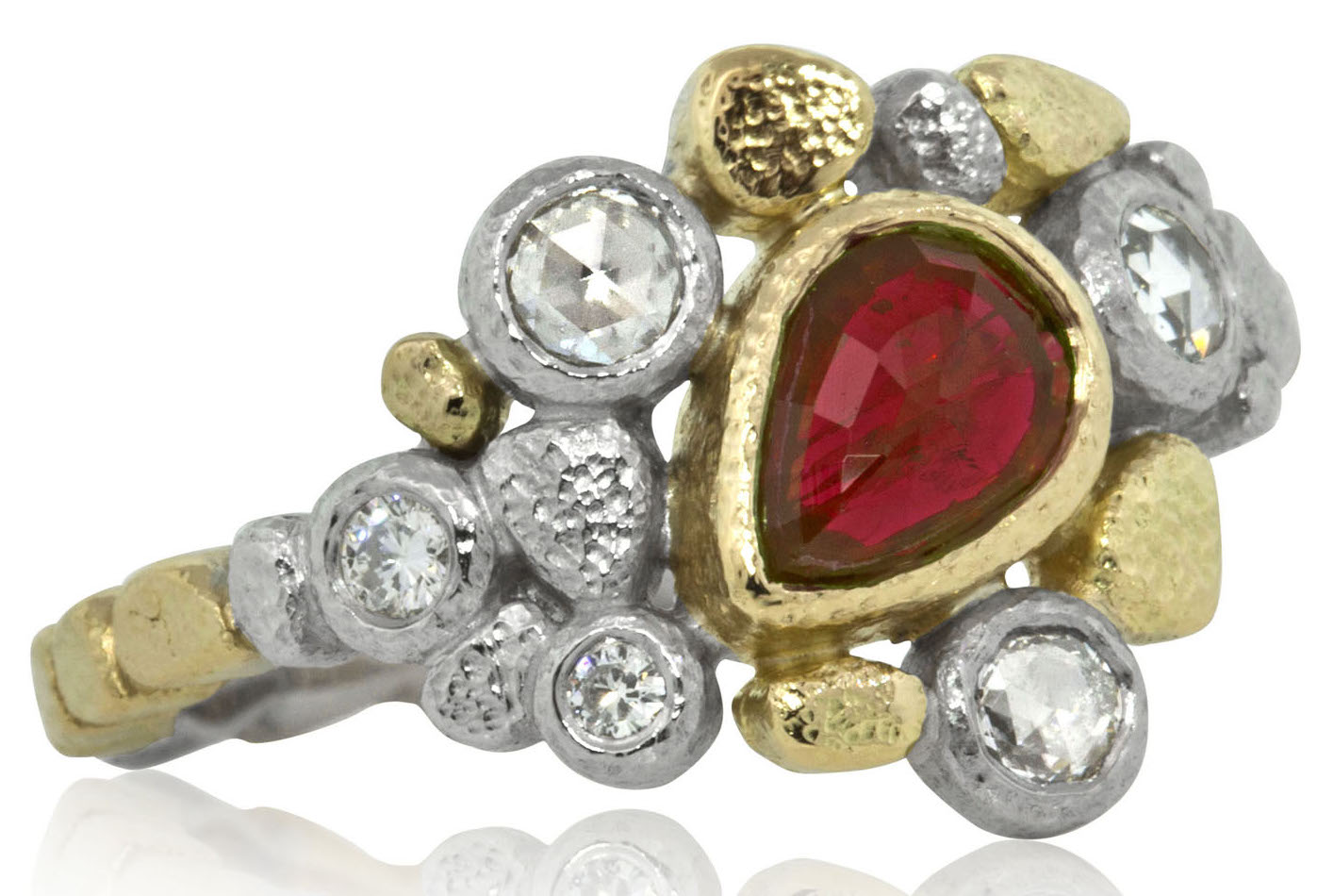 Rona Fisher ruby Dancing Diamonds ring | JCK On Your Market