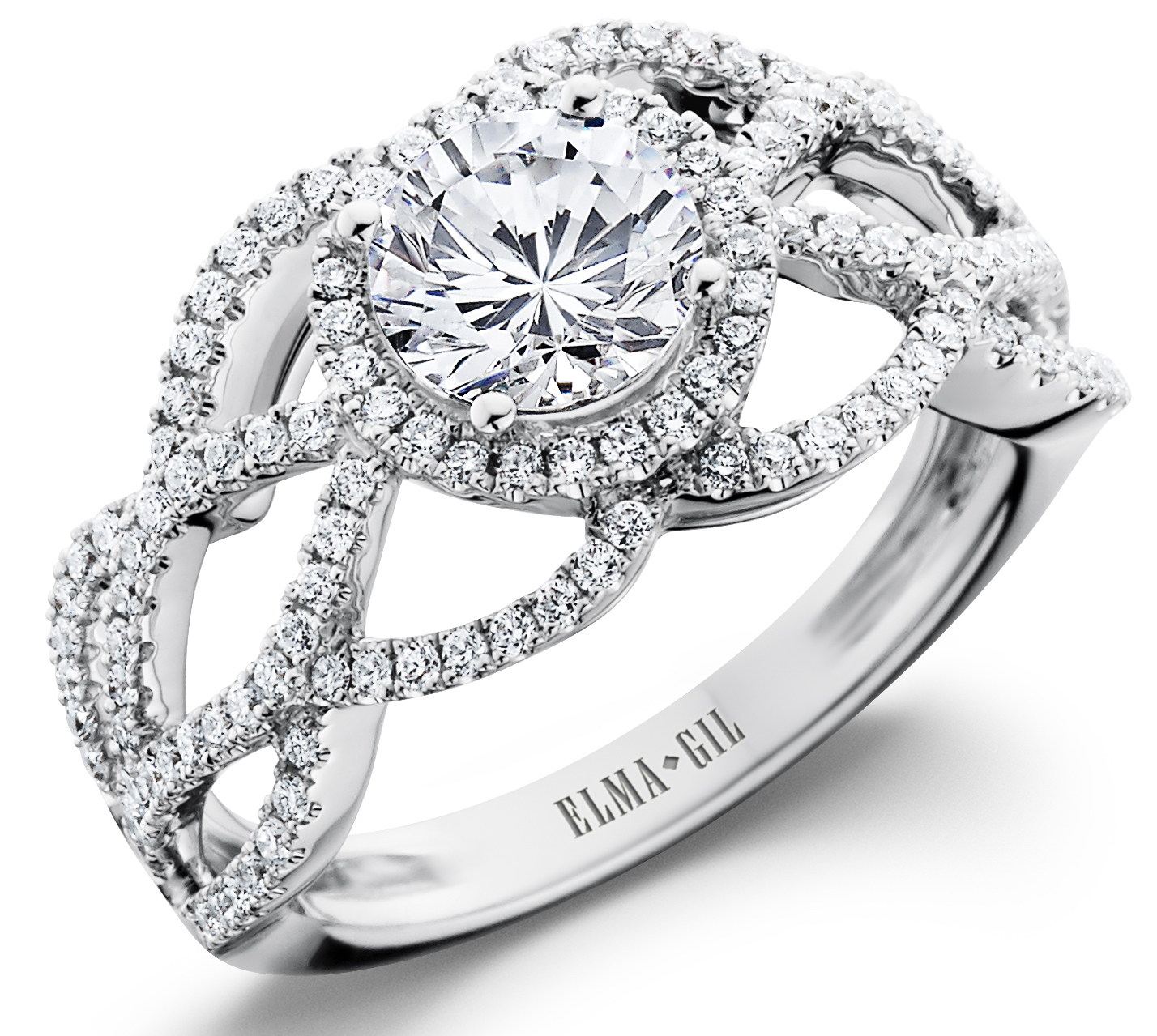 Elma Gil diamond engagement ring | JCK On Your Market