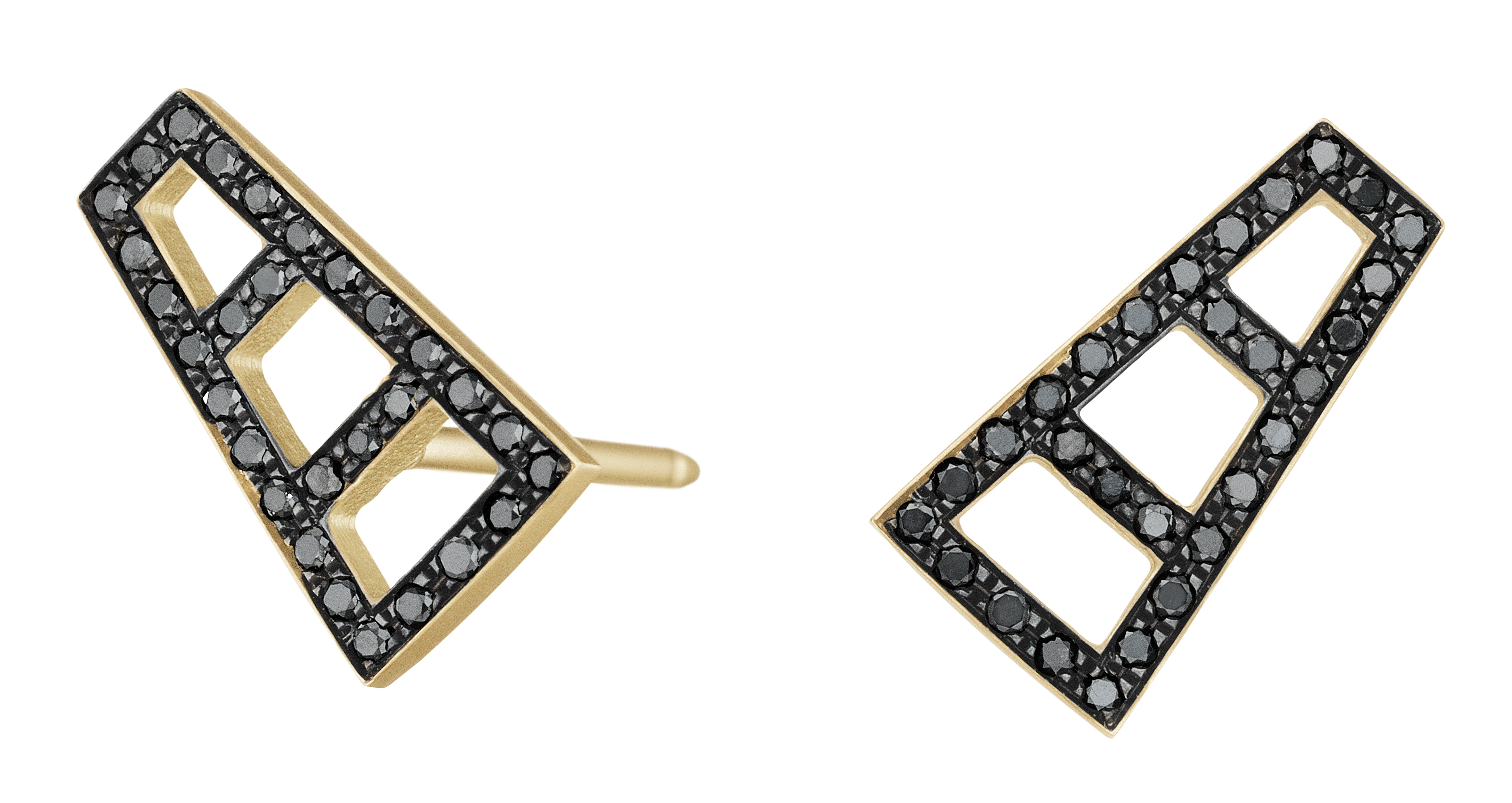 Doryn Wallach petite Ladder stud earrings | JCK On Your Market