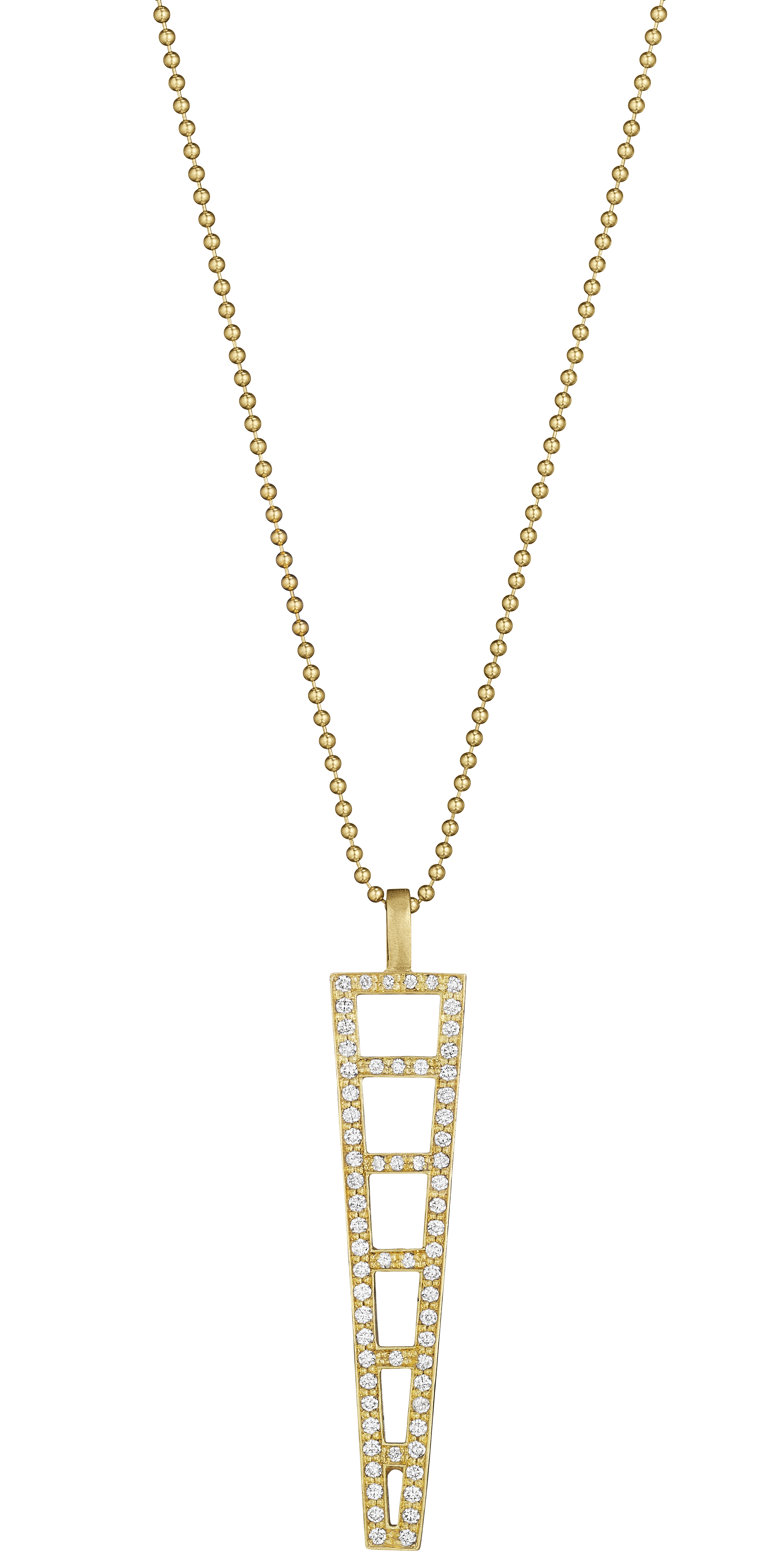 Doryn Wallach diamond ladder pendant | JCK On Your Market