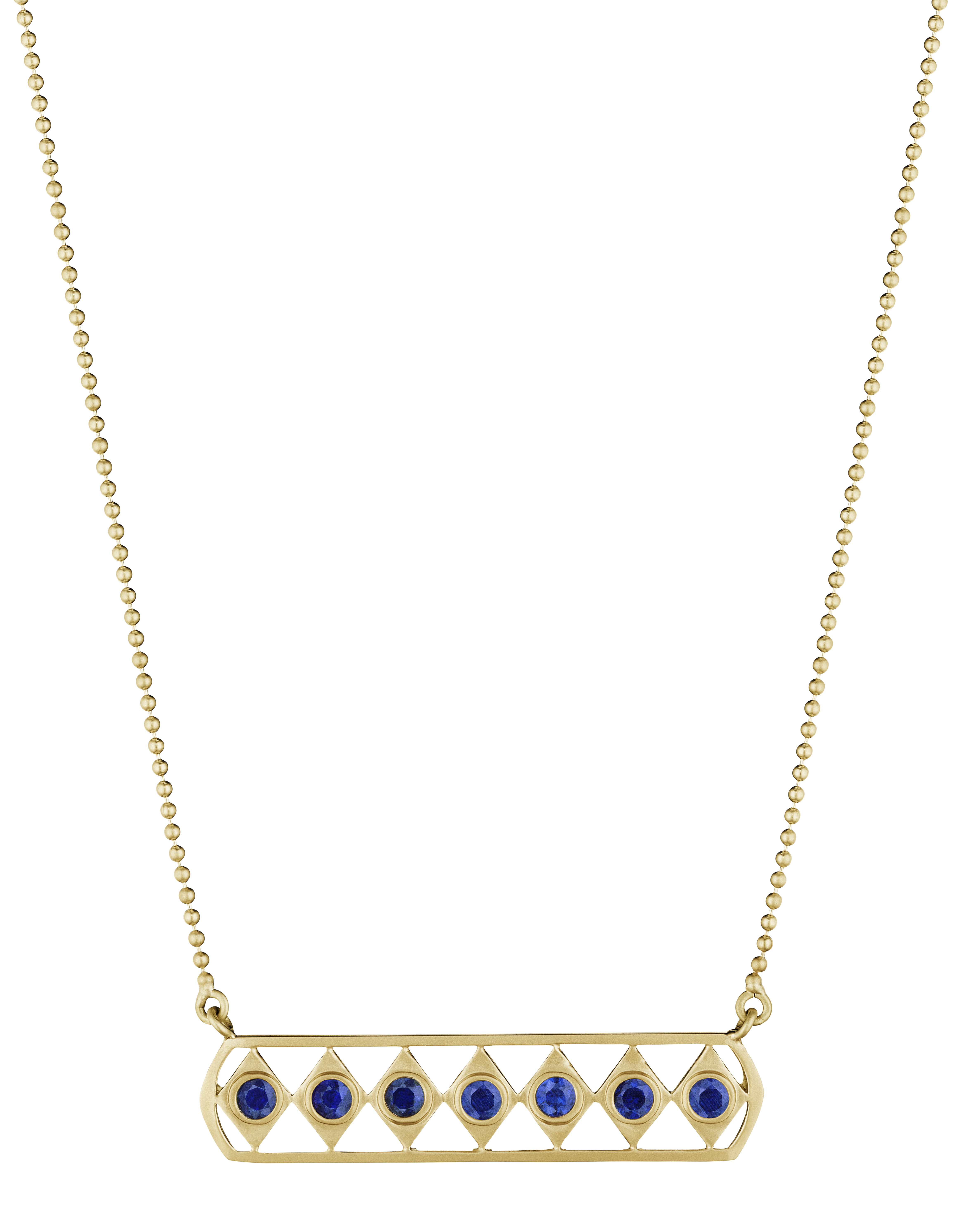 Doryn Wallach sapphire Gladiator necklace | JCK On Your Market
