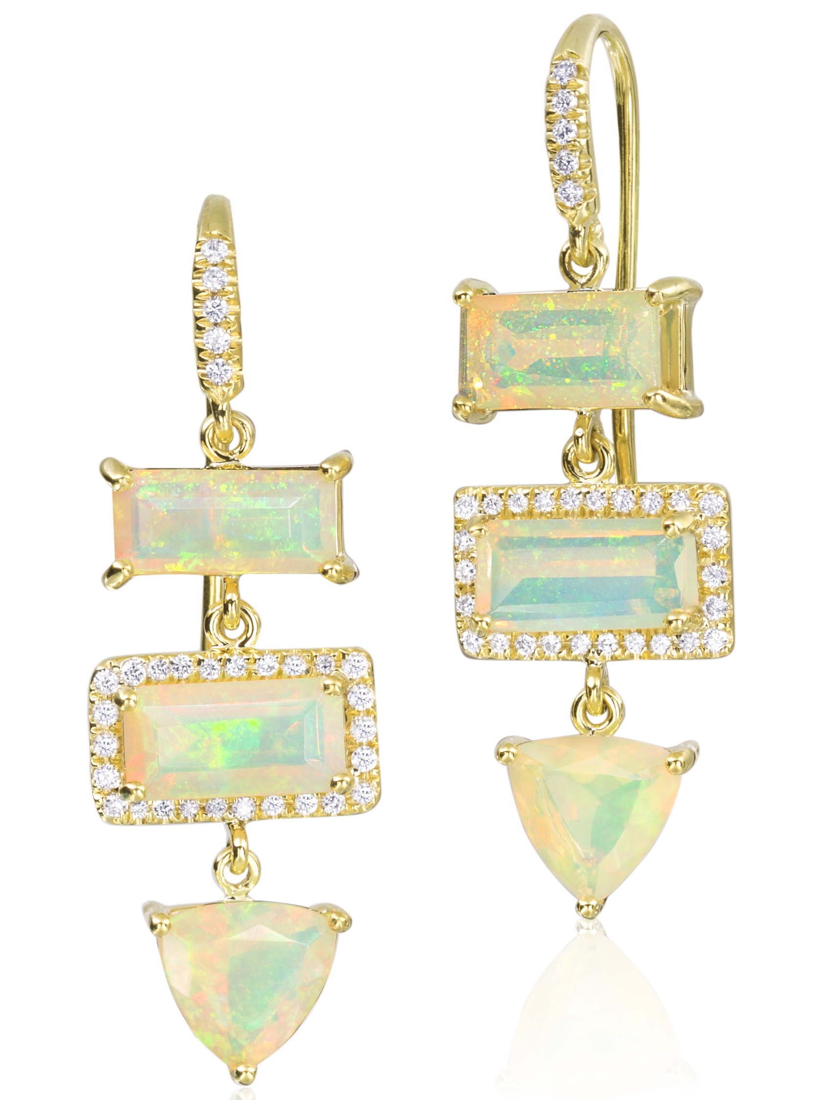 Lauren K opal Gemma earrings | JCK On Your Market